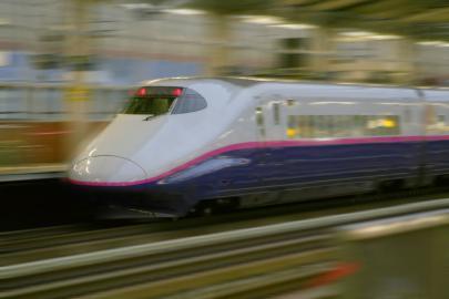 Shinkansen Hochgeschwindigkeitszug, Japan
