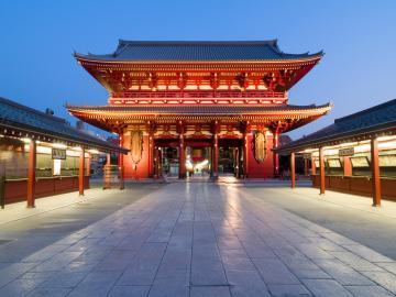 Asakusa-Kannon-Tempel in Tokio
