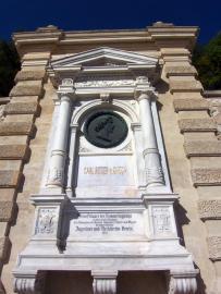Das Ghega-Denkmal im Bahnhof Semmering