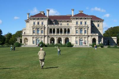The Breakers - gesehen vom Cliffwalk