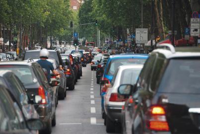Berufsverkehr in Köln