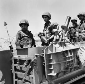 Beginn der Kämpfe an der israelisch-ägyptischen Grenze
