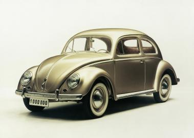 1955: Der einmillionste Käfer