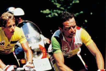 1986 / Frankreich / Tour de France / Lemond und Hinault