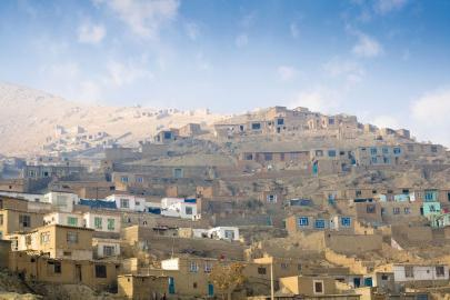 Blick auf Kabul