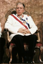 Der Diktator Augusto Pinochet