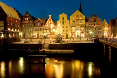 Weihnachtsgiebel in Lüneburg
