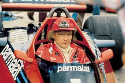 Niki Lauda: schwerer Unfall auf dem Nürburgring