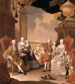 Maria Theresia und Franz I., Gemälde von Martin Meytens