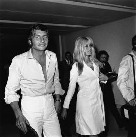 Das schillernde Paar: Gunter Sachs und Brigitte Bardot
