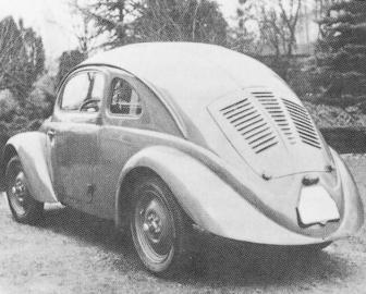 Ferdinand Porsche erhielt für seinen KdF-Wagen Millionen von den Nazis