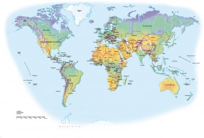 Die Klimazonen der Erde