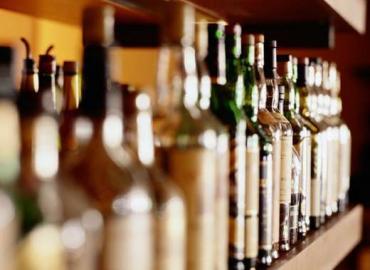Flaschen, Spirituosen, Alkohol