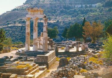 Tempelanlage Delphi