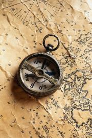 alter Kompass