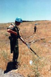 UNDOF - Beobachtertruppe der Vereinten Nationen für die Truppenentflechtung UNO
