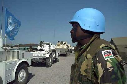 UNMEE - Mission der Vereinten Nationen in Äthiopien und Eritrea UNO UN