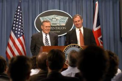 Donald Rumsfeld, Geoff Hoon, Pentagon