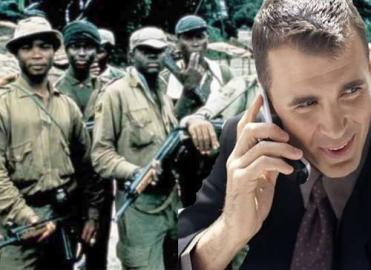 Handy, Krieg, Afrika