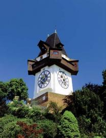 Graz Uhrturm Österreich
