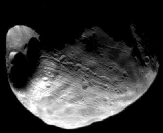 Phobos, Mond, Mars