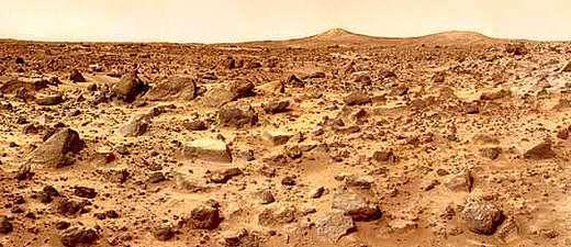 Mars Landschft