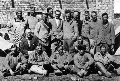 Bergsteigen: Mount Everest Expedition 1924