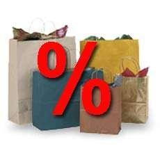 Einkaufstüten, Prozent, Einkaufen, Rabatte
