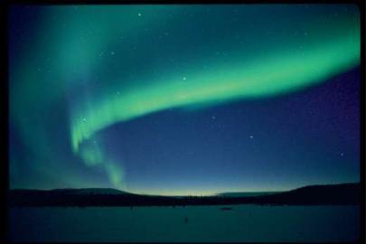 Nordlicht, Finnland, Lappland