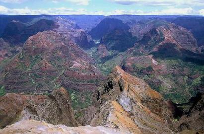 Hawaii, Kauai, Waimea, Grand Canyon of the Pacific