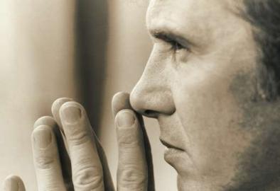 Profil, Gesicht, Nase und Hände, männlich