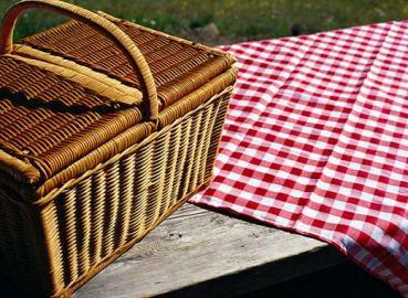 Schöne Tage laden zum Picknicken ein.