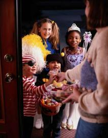 Halloween, süsses oder saures, Kinder, Verkleiden