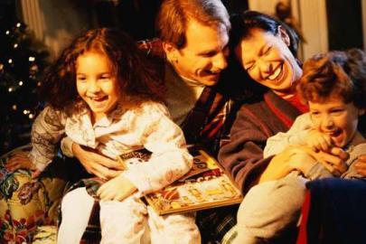 Familie, Freude, Weihnachten