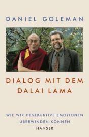 Buchcover / Daniel Goleman: Dialog mit dem Dalai Lama