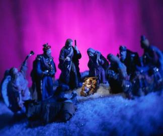 An Weihnachten wird die Geburt von Jesus Christus gefeiert.