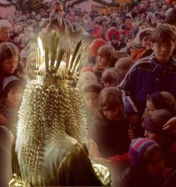 Das Nürnberger Christkind wird jedes Jahr neu gewählt