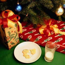 Weil Santa Claus mitten in der Nacht kommt und bestimmt eine Menge zu tun hat st