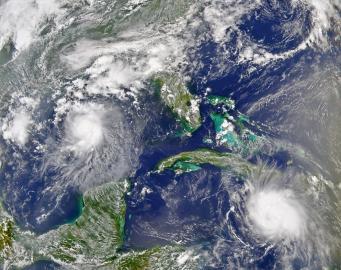 "August 2004 - Hurrikan ""Charley"""