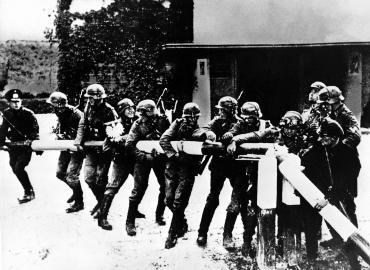 Weltkrieg (2) / Überfall auf Polen / Grenzpfähle