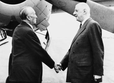 Ende der Erbfeindschaft: Charles de Gaulle und Konrad Adenauer