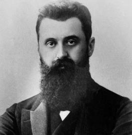 Theodor Herzl, Vater des Zionismus