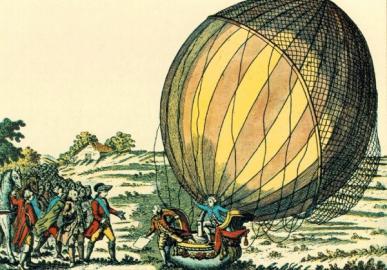 bemannter Wasserstoffballon