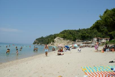 Badebucht auf Kassandra, Chalkidiki