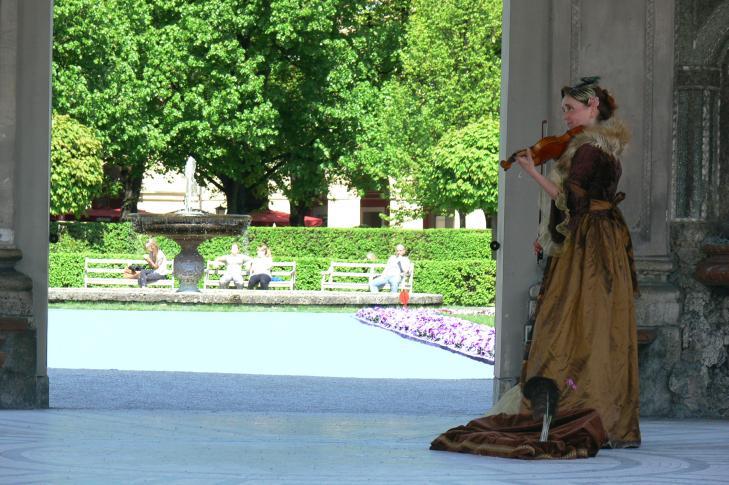 Hofgarten München Pavillon Dianatempel