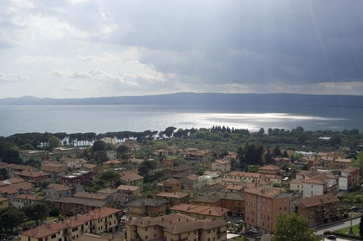 Blick auf den Bolsenasee