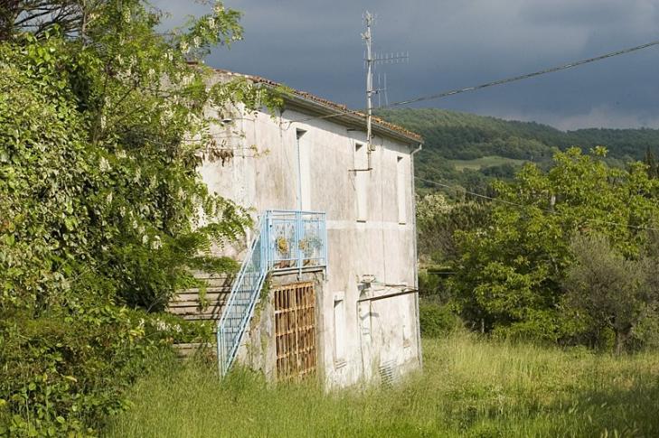Altes Bauernhaus bei Bolsena