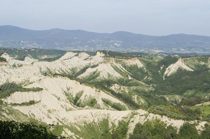 Landschaft bei Civita di Bagnorégio