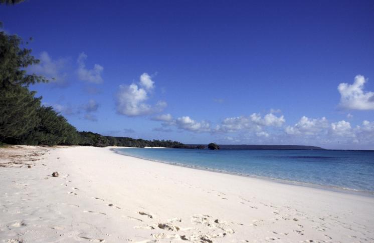 Luengoni Beach auf der Insel Lifou