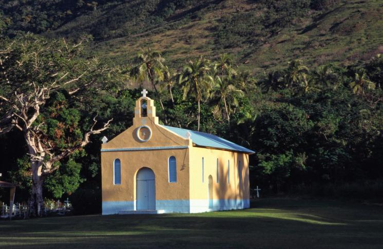Christliche Kirchen sind weit verbreitet